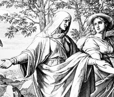 Naomi and Ruth Return to Bethlehem