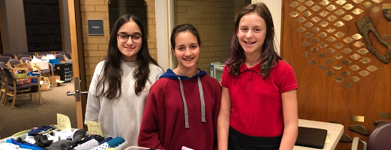 One Girl's Bat Mitzvah Project Goes a Long Way in Helping Homeless