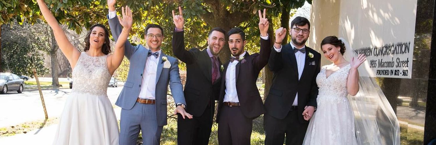 Three Israeli Couples Travel to D.C. for Wedding They Will Never Forget