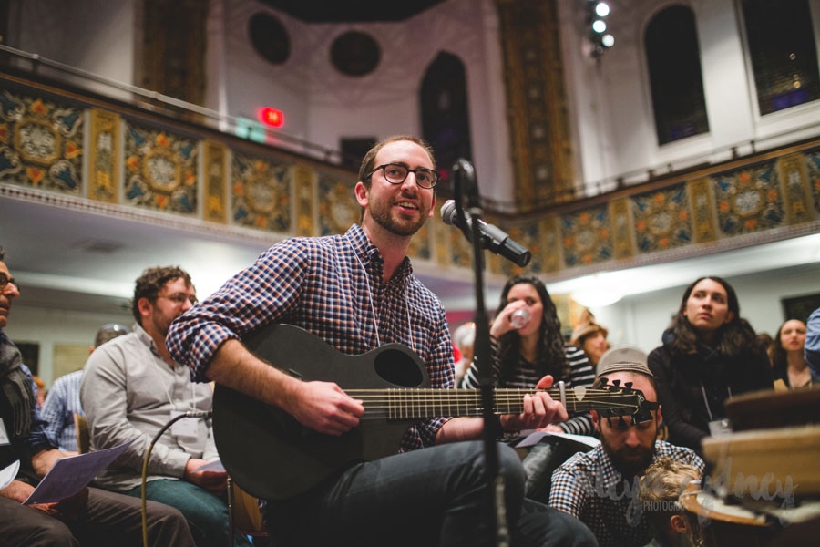 Inspiring communities across the country with his original Jewish melodies.